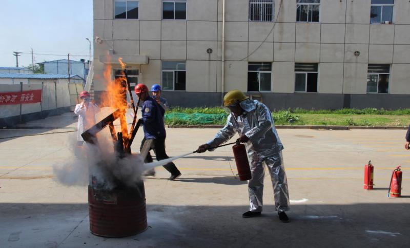 三原公司举行消防专项应急演习