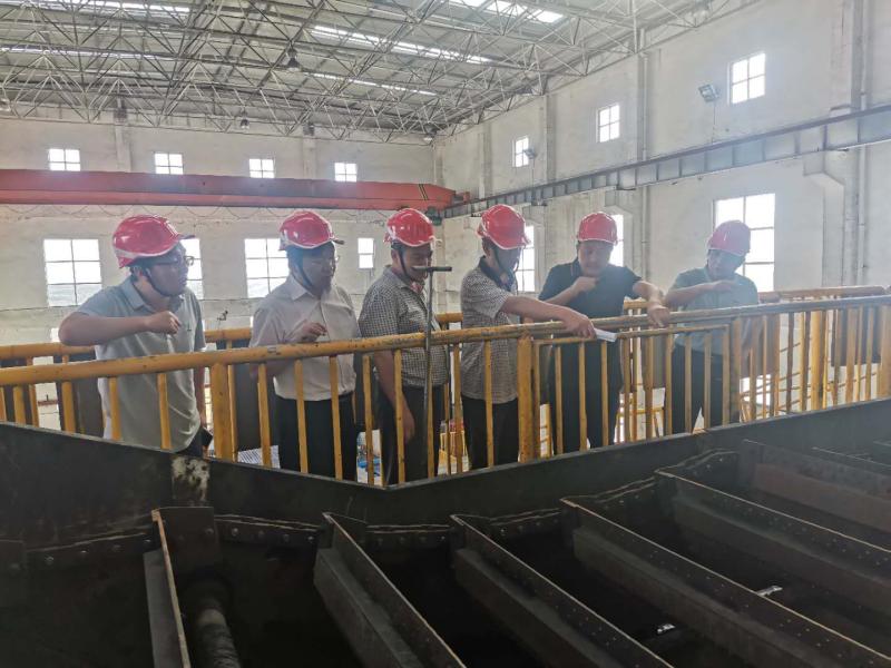方刚一行莅临袁大滩选煤厂检查指导工作