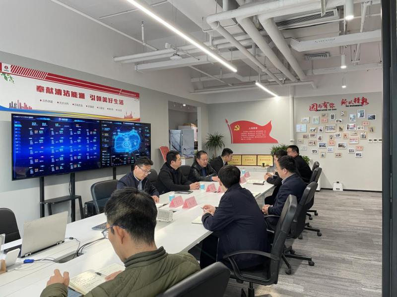 公司副总经理黄岗一行到西安新能科技公司安全检查指导工作